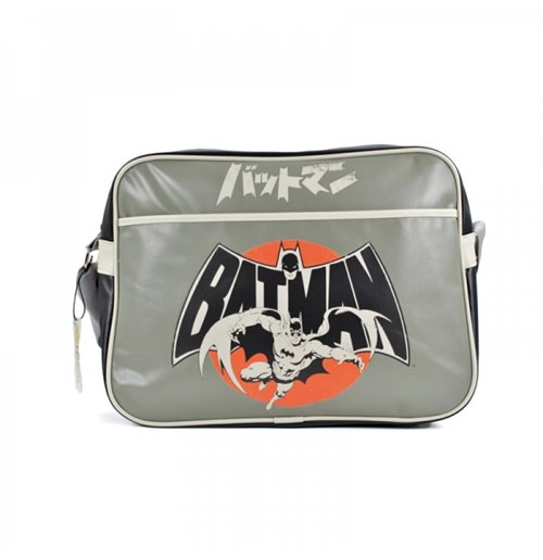 Batman - Grey Japanese Messenger Bag