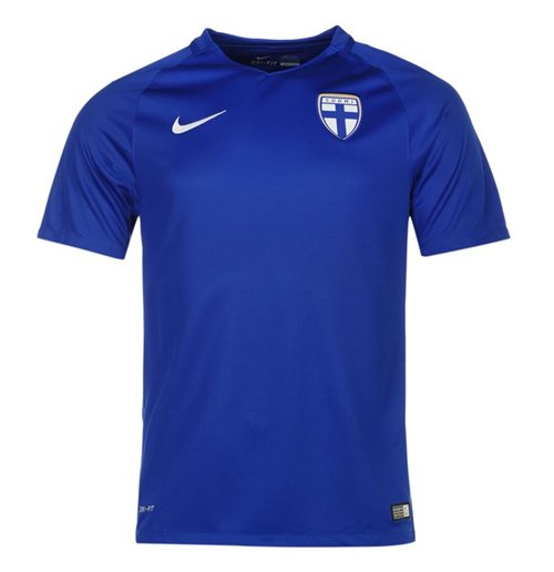 2016-2017 Finland Away Nike Football Shirt