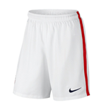 2016-2017 USA Nike Home Shorts (White)