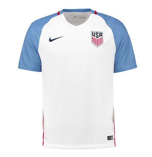 2016-2017 USA Home Football Shirt