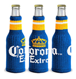 Corona Knitted Bottle Koozie