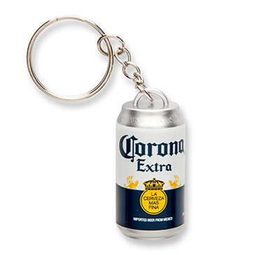 corona can keychain for only at merchandisingplaza uk. Black Bedroom Furniture Sets. Home Design Ideas