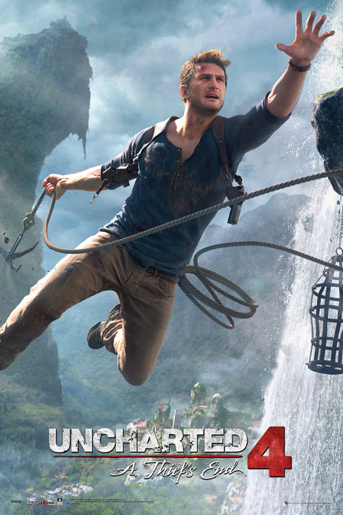 Uncharted 4 Jump Maxi Poster