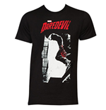 DAREDEVIL Men's Black Hell's Kitchen Tee Shirt