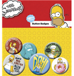 The Simpsons Badge Pack  - Homer