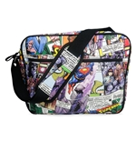 Superman Flys Messenger Bag