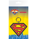 Superman Rubber Keyring - Logo