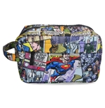 Superman Flys Wash Bag