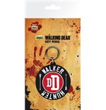 The Walking Dead - Walker Hunter Rubber Keychain