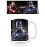 Captain America Civil War Mug Choose A Side