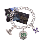 Harry Potter Charm Bracelet Lumos Slytherin (silver plated)