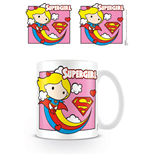 Justice League Mug Chibi Supergirl Pink