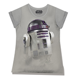 Star Wars Ladies T-Shirt R2-D2 Fog