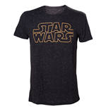 Star Wars T-Shirt Logo & Stars All Over