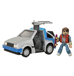 Back to the Future Minimates Vehicle 30th Anniversary Time Machine