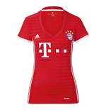 2017-2017 Bayern Munich Adidas Home Womens Shirt