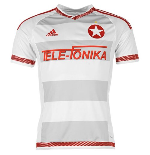 Buy Official 2016-2017 Wisla Krakow Adidas Away Football Shirt
