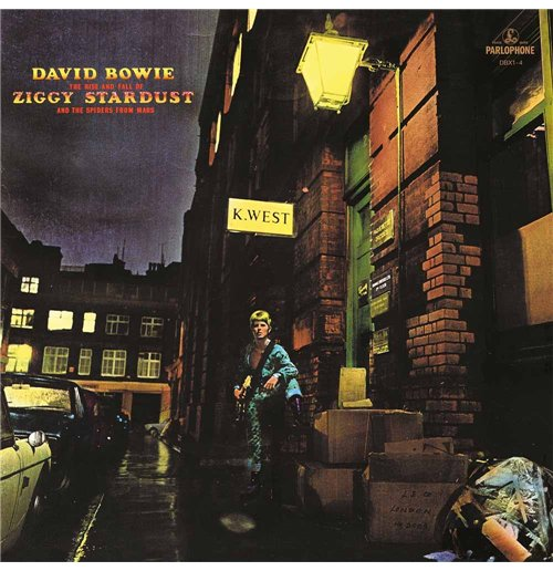 Vynil David Bowie - The Rise and Fall Of Ziggy Stardust And The Spiders From Mars (2012 Remastered Version)