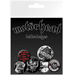 Motorhead - Aces Badge Pack