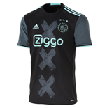 2016-2017 Ajax Adidas Away Football Shirt
