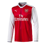2016-2017 Arsenal Puma Home Long Sleeve Shirt