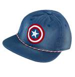 CAPTAIN AMERICA Washed Snapback Hat