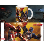 Captain America Civil War Mug Fight