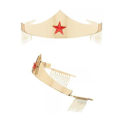 WONDER WOMAN Tiara Costume Piece