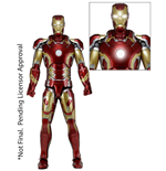 The Avengers Actionfigur 1/4 Iron Man Mark XLIII 46 cm