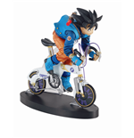 Dragonball Z Desktop Real McCoy Vol. 1 PVC Diorama Son Goku 02 F Edition 14 cm