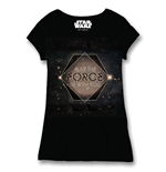 Star Wars Ladies T-Shirt Galactic May The Force