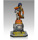 Star Wars Rebels Maquette Ezra & Chopper 23 cm
