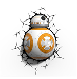 Star Wars Episode VII 3D LED Light BB-8