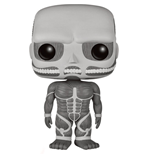 Attack on Titan POP! Animation Vinyl Figure Colossal Titan Black & White 15 cm