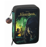 The Jungle Book 2016 34-Piece Pencil Case with content Mowgli & Bagheera 21 cm