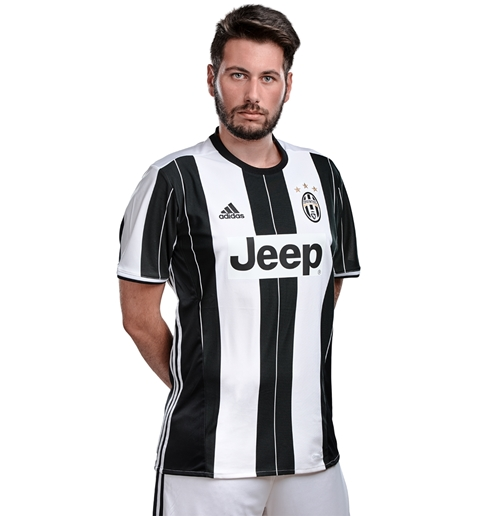 2016-2017 Juventus Adidas Home Football Shirt