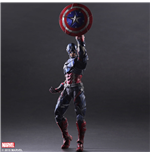Marvel Comics Variant Play Arts Kai Action Figure Captain America 27 cm
