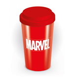 Marvel Comics Travel Mug Logo