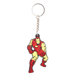 Marvel Comics Rubber Keychain Iron Man