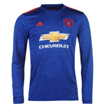 2016-2017 Man Utd Adidas Away Long Sleeve Shirt