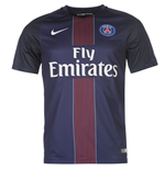 2016-2017 PSG Home Nike Football Shirt
