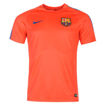2016-2017 Barcelona Nike Training Shirt (Crimson) - Kids