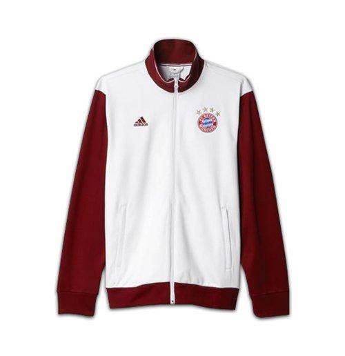 2016 2017 Bayern Munich Adidas 3S Track Top (White)