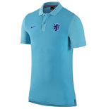 2016-2017 Holland Nike Authentic GS Slim Polo Shirt (Clearwater)