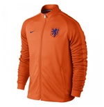 2016-2017 Holland Nike Authentic N98 Track Jacket (Orange)