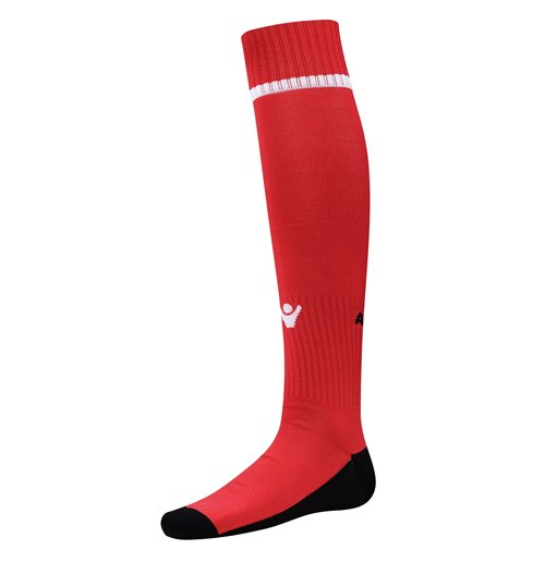 2016-2017 Albania Home Macron Socks (Red) - Kids