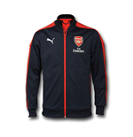 2016-2017 Arsenal Puma Stadium Jacket (Peacot)