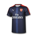 2016-2017 Arsenal Puma Stadium Jersey (Peacot)