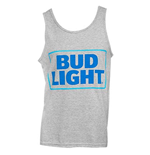 Men's BUD LIGHT Grey Tank Top