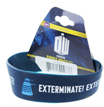 Doctor Who Rubber Bracelet - Exterminate